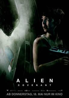 """Das Hauptplakat von """"Alien Covenant"""" (© 20th Century Fox)"""