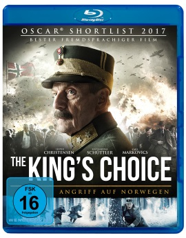 """Das Blu-ray-Cover von """"The King's Choice"""" (© Pandastorm Pictures)"""