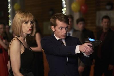 Charlie und Miss Quill sind nicht so normal, wie sie aussehen (© Polyband)