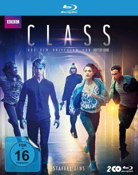 """Das Blu-ray-Cover der ersten Staffel von """"Class"""" (© Polyband)"""