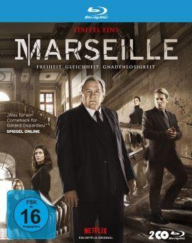 """Das Blu-ray-Cover der ersten Staffel von """"Marseille"""" (© Polyband)"""