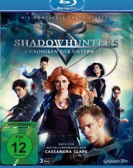 """Das Blu-ray-Cover der ersten Staffel von """"Shadowhunters"""" (© Constantin Film)"""