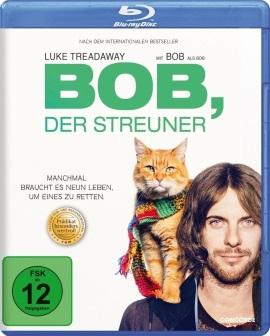 """Das Blu-ray-Cover von """"Bob, der Streuner"""" (© Concorde Home Entertainmant)"""