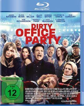 "Das Blu-ray-Cover von ""Dirty Office Party"" (© Constantin Film)"