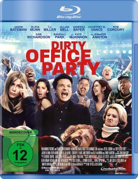 "Das Blu-ray-Cover von ""Dirty Office Party"" (© Constantin Film)"