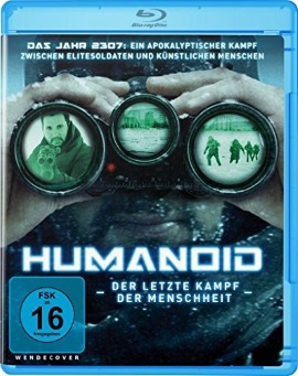 "Das Blu-ray-Cover von ""Humanoid"" (© Ascot Elite)"