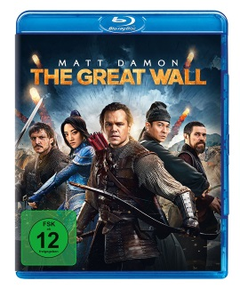 """Das Blu-ray-Cover von """"The Great Wall"""" (© Universal Pictures Germany)"""