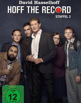 "Das DVD-Cover der zweiten Staffel ""Hoff the Record"" (© Polyband)"
