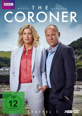 """Das DVD-Cover der ersten Staffel """"The Coroner"""" (© Polyband)"""