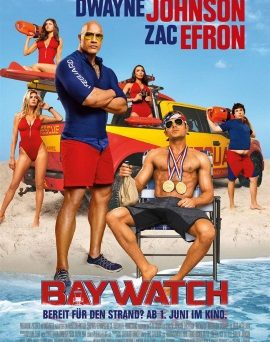 "Das Plakat zu ""Baywatch"" (© Paramount Pictures Germany)"