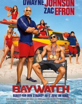 """Das Plakat zu """"Baywatch"""" (© Paramount Pictures Germany)"""