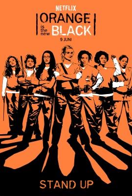 """Das Teaser-Plakat zur fünften Staffel """"Orange Is The New Black"""" (©Netflix)"""