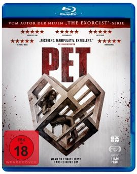 "Das Blu-ray-Cover von ""Pet"" (© Pandastorm Pictures)"