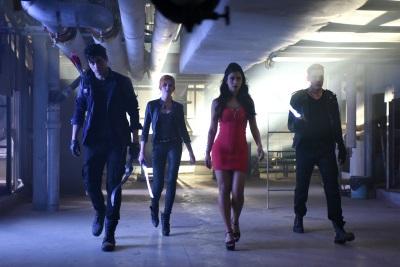 Schon bald kämpft Clary mit den anderen Schattenjägern gegen Dämonen (© Constantin Film)