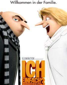 """Das Plakat von """"Ich, einfach unverbesserlich 3"""" (© Universal Pictures Germany)"""