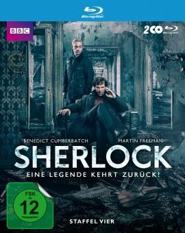 """Das Blu-ray-Cover der vierten Staffel von """"Sherlock"""" (© Polyband)"""
