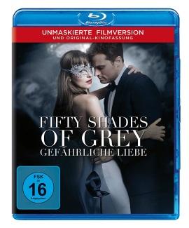 """Das Blu-ray-Cover von """"FiftyShades of Grey - Gefährliche Liebe"""" (© Universal Pictures Germany)"""