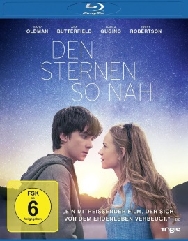 """Das Blu-ray-Cover von """"Den Sternen so nah"""" (© Tobis Film)"""