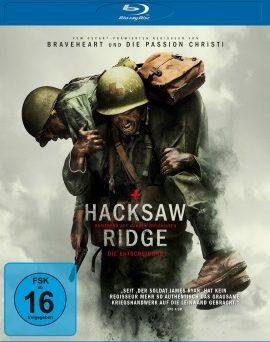 """Das Blu-ray-Cover von """"Hacksaw Ridge - Die Entscheidung"""" (© Unievrsum Film)"""
