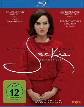 "Das Blu-ray-Cover von ""Jackie - Die First Lady"" (© Tobis Film)"