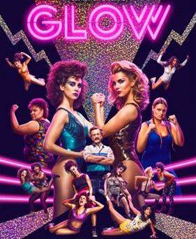 """Das Hauptplakat von """"GLOW"""" (© Netflix)"""