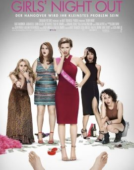 "Das Hauptplakat von ""Girls' Night Out"" (© Sony Pictures Germany)"