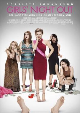 "Das Hauptplakat von ""Girls' Night Out"" (© Sony Pictures Germany)"