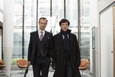 Die Brüder Holmes vereint (© Polyband)