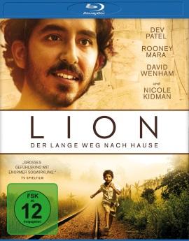 """Das Blu-ray-Cover von """"Lion - Der lange Weg nach Hause"""" (© Universum Film)"""