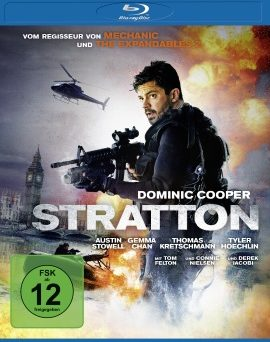"Das Blu-ray-Cover von ""Stratton"" (© Universum Film/Square One)"