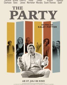 """Das Plakat von """"The Party"""" (© Weltkino)"""