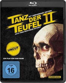 """Das Blu-ray-Cover von """"Tanz der Teufel 2"""" (© StudioCanal)"""