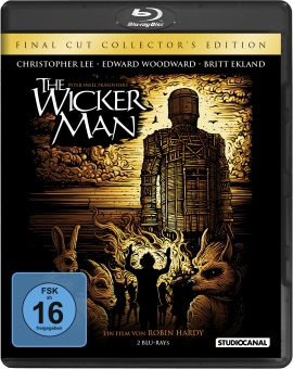 "Das Blu-ray-Cover von ""The Wicker Man"" (© StudioCanal)"