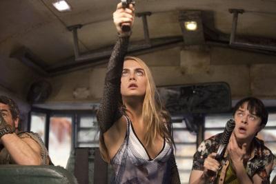 Valerian und Laureline haben Ärger (© Universum Film)