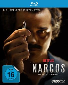 """Das Blu-ray-Cover der zweiten Staffel """"Narcos"""" (© Polyband)"""