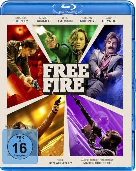 "Das Blu-ray-Cover von ""Free Fire"" (© Splendid Film)"