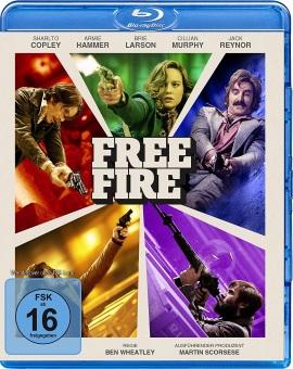 "Das Blu-ray-Cover von ""Free Fire"" (© Splendid Film)"