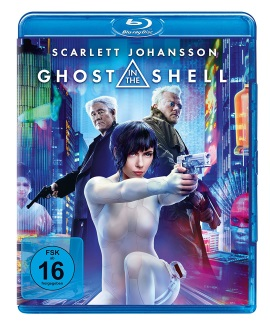 """Das Blu-ray-Cover von """"Ghost in the Shell"""" (© Paramount Pictures Germany)"""