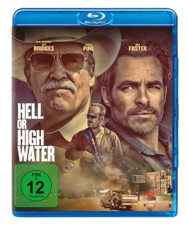 """Das Blu-ray-Cover von """"Hell Or High Water"""" (© Paramount Pictures Germany)"""