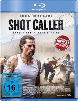 "Das Blu-ray-Cover von ""Shot Caller"" (© Constantin Film)"