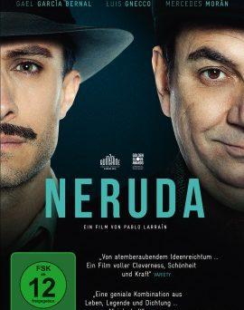 """Das DVD-Cover von """"Neruda"""" (© Piffl Medien)"""