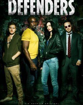 "Das Hauptplakat der ersten Staffel ""The Defenders"" (© Netflix)"