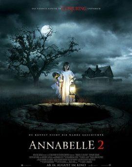 """Das Hauptplakat von """"Annabelle 2"""" (© Warner Bros Pictures)"""