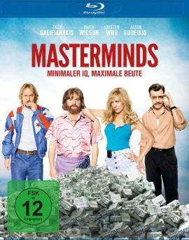 "Das Blu-ray-Cover von ""Masterminds"" (© Universum Film/Wild Bunch)"