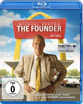 "Das Blu-ray-Cover von ""The Founder"" (© Splendid FIlm)"