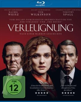 "Das Blu-ray-Cover von ""Verleugnung"" (© Square One/Universum)"