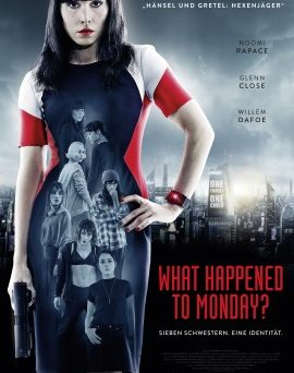 "Das Kinoplakat von ""What Happened To Monday?"" (© Splendid Film)"