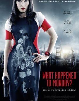 "Das Kinoplakat von ""What Happened To Monday?"" (© Splendid Film)"