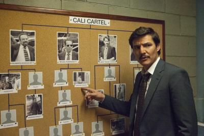 Agent Peña möchte jetzt auch das Cali-Kartell zu Fall bringen (© Netflix)