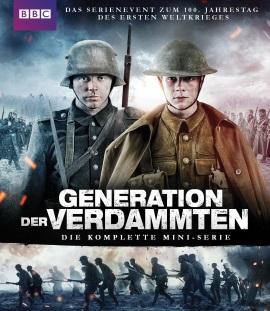 Das Blu-ray-Cover von Generation der Verdammten (© Pandastorm Pictures)